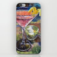 martini iPhone & iPod Skins featuring Martini by Michael Creese