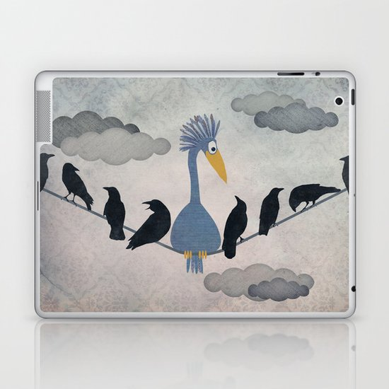 "For ""The Birds"" Laptop & iPad Skin"