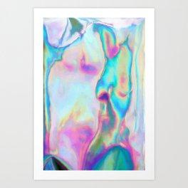 Iridescence - Rainbow Abstract Art Print