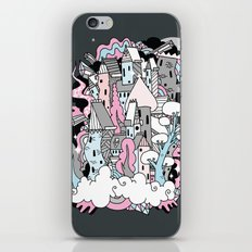 Head in the Clouds. iPhone & iPod Skin