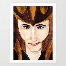 Loki Laufeyson Art Print