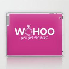 Woohoo you got married Laptop & iPad Skin