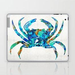 Blue Crab Art by Sharon Cummings Laptop & iPad Skin