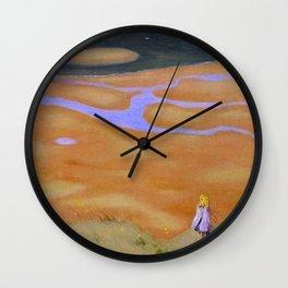 The Rising Tide by Félix Vallotton Wall Clock