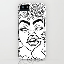Beer's Nymph iPhone Case