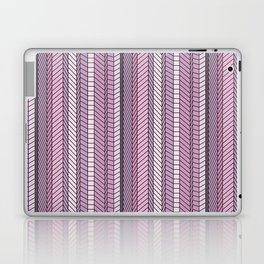 Purple Optical Illustion Laptop & iPad Skin