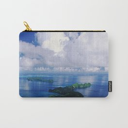 View To Eternity: Paradise Island With Tropical Clouds Carry-All Pouch
