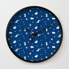 bunny hop Wall Clock