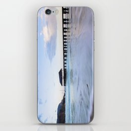 Hanalei Bay Pier at Sunrise iPhone Skin