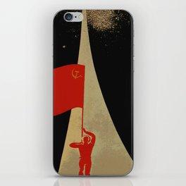 all the way up to the stars - soviet union propaganda iPhone Skin