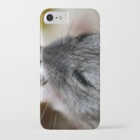 hamster iPhone & iPod Cases featuring Tiny Hamster by IowaShots