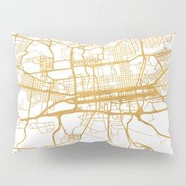 JOHANNESBURG SOUTH AFRICA CITY STREET MAP ART Pillow Sham