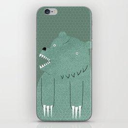 Friendly Bear iPhone Skin