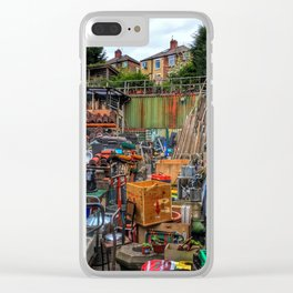 Menagerie of junk Clear iPhone Case