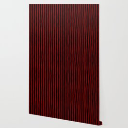 Black and Red Stripes Wallpaper