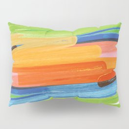 Color yellow red blue green Pillow Sham