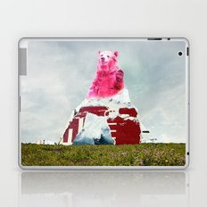 Bear Salute Laptop & iPad Skin