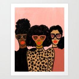 Shade Squad Art Print