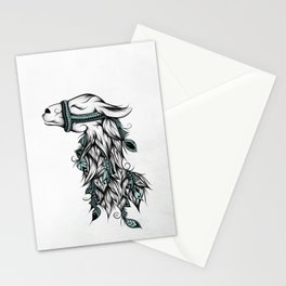 Poetic Llama Stationery Cards