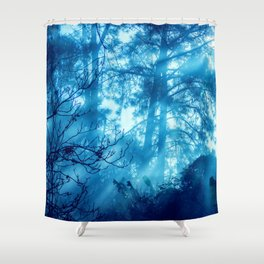 Foggy Tales Shower Curtain