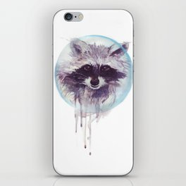 Hello Raccoon! iPhone Skin