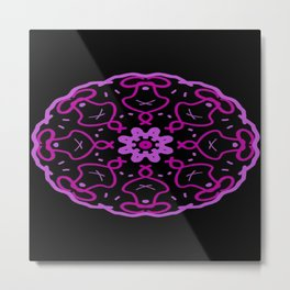 Kaleidoscope Art Metal Print