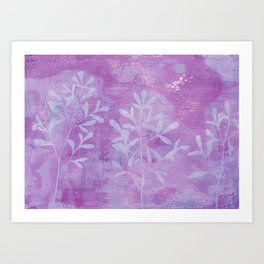 Cyanotype No. 9 Art Print