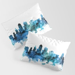 Kansas City Missouri Skyline Pillow Sham