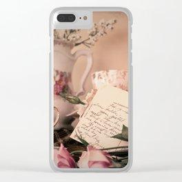 Dear Hilda Clear iPhone Case