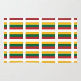 Flag of Lithuania – Lietuva,Lithuanian,Lietuvos,vilnius,kaunas,baltic,viking. Rug
