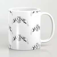 maine Mugs featuring Maine by Natalie Oliver