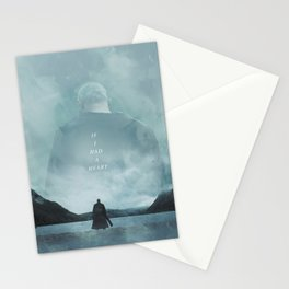 If I Had A Heart - Ragnar Lothbrok Stationery Cards