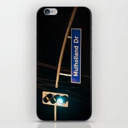 Mulholland Drive iPhone Skin