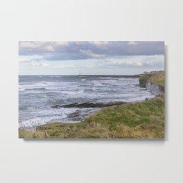 Northumbrian Seas Metal Print