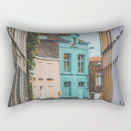 Streets of Belgium Rectangular Pillow