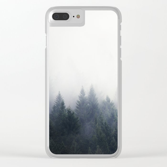 I Don't Give A Fog Clear iPhone Case