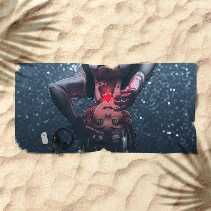 Annie Mei Steal Your Heart Beach Towel