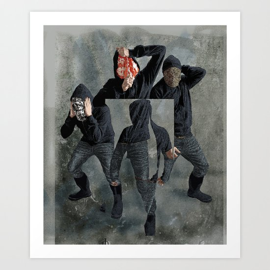 String Theory: Collapsing Wavefunction, Seventh Tangible Art Print