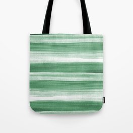 Green Watercolor Ombre Tote Bag