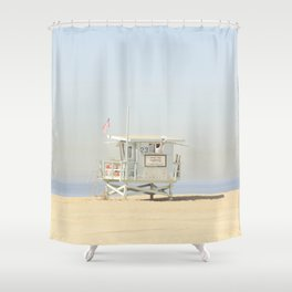ALPACA -  VENICE BEACH No. 23 Shower Curtain