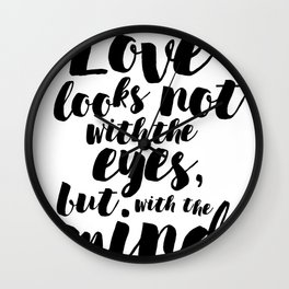 About love Wall Clock