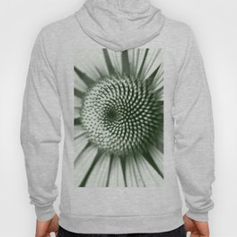 Black and White Flower Core Hoody
