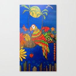 Dime Pajarito Canvas Print