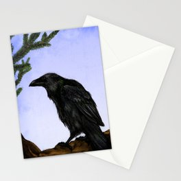 Hugin and Munin Stationery Cards
