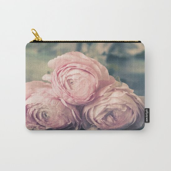 Lovely Ranunculus Carry-All Pouch