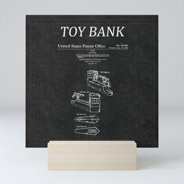 Toy Bank Patent 4 Mini Art Print