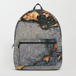 GREY & GOLD GEMSTONE Backpack