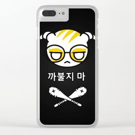 Dokkaebi wallpaper Clear iPhone Case