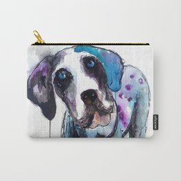 Great Dane Drip Picture Carry-All Pouch