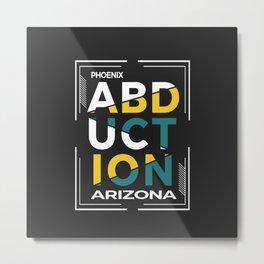ABDUCTION | UFO Art Metal Print